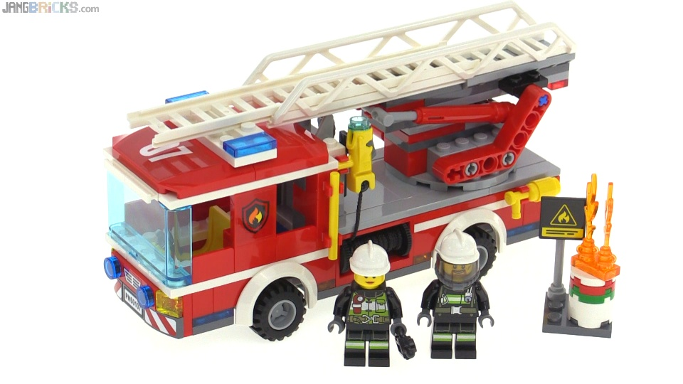 Lego City 2016 Fire Ladder Truck Build Amp Review 60107