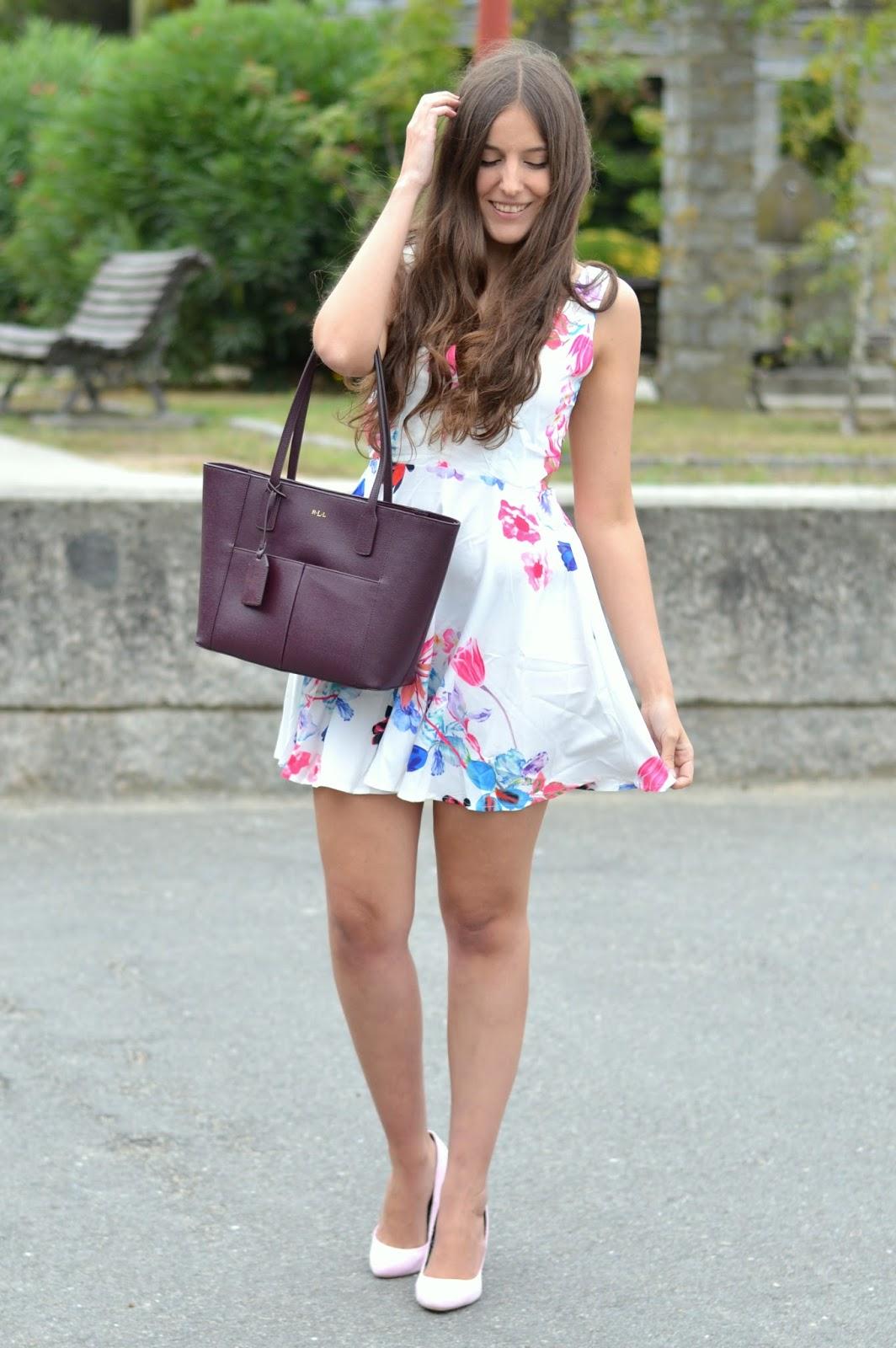 vestido flores persunmall