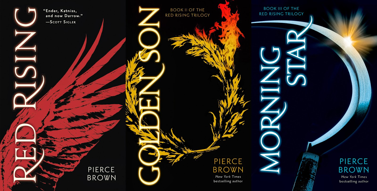 Red rising 3 morning star by superstar author pierce brown gets an ocd triggering cover