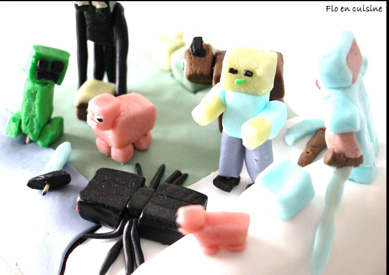 Flo en cuisine tuto 3 zombi minecraft for Cuisine minecraft