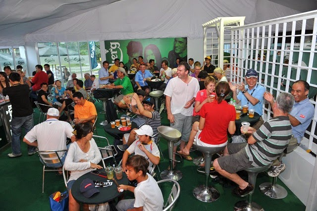 The Carlsberg Beer Garden at the Maybank Malaysian Open