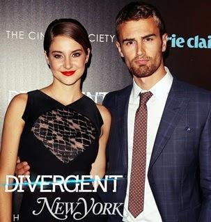 Premiera Divergent in N.Y.