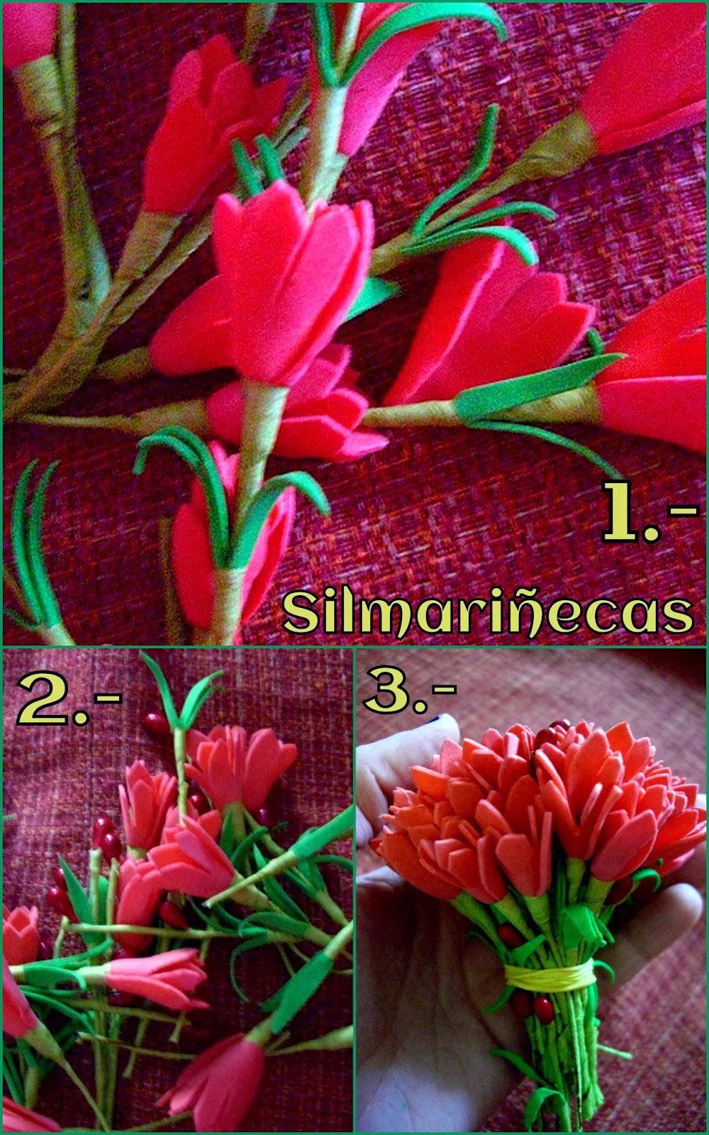 cómo hacer un bouquet de flores-