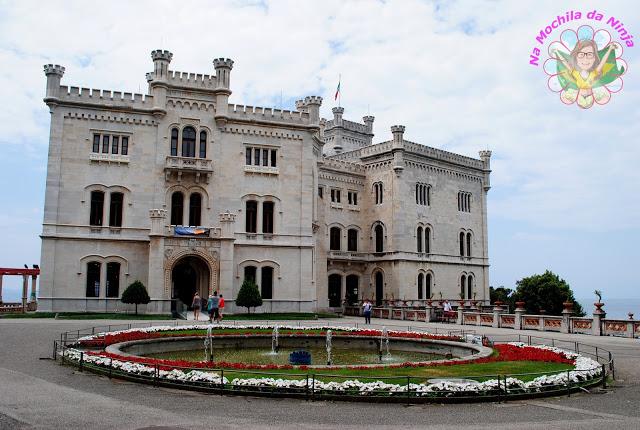 Itália: Castelo de Miramare