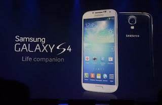 Samsung Galaxy S4 telah Resmi Diluncurkan
