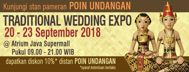 Semarang Traditional Wedding Expo 2018