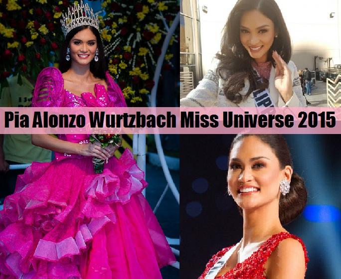 Pia Alonzo Wurtzbach Miss Universe 2015