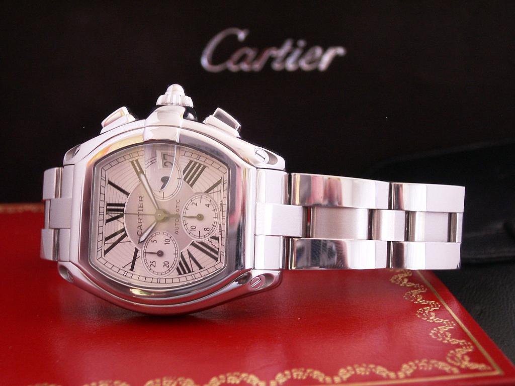 cartier watches for men and women cartier men s w62019x6 roadster automatic chronograph watch