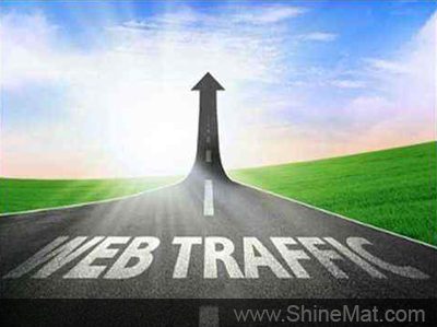 get blog post traffic