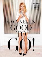 Gwyneth Paltrow leggy in a short dress and drinking on a straw