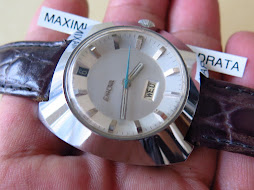 ENICAR BROKEN WHITE DIAL - SEMOK CASE - AUTOMATIC