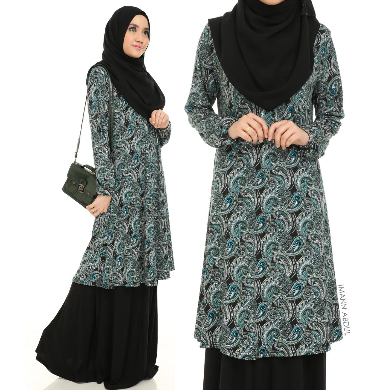 Blouse Muslimah Paisley 114