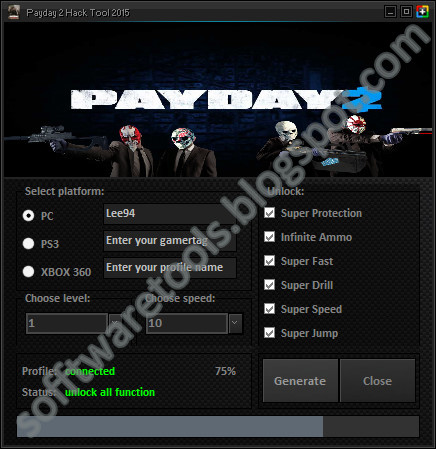 how to delete hacks from payday 2