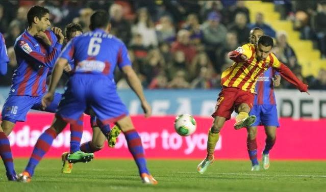 Levante vs Barcelona Copa del Rey