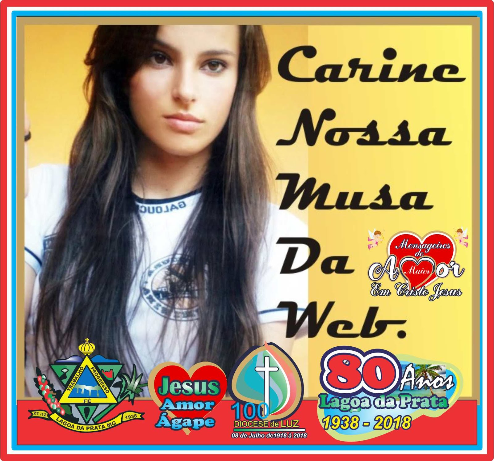 Carine Xavier Nossa Musa da Web.