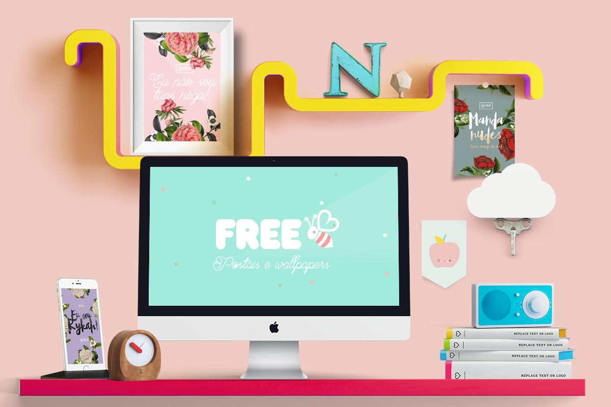 free flamingo poster blog brasilia