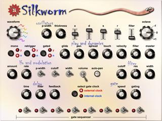 O SilkWorm - O Bicho em VST