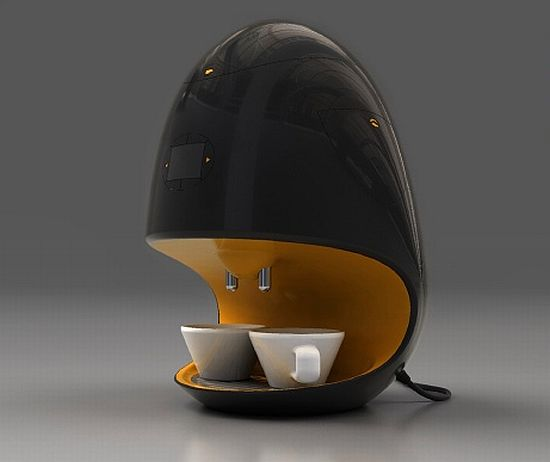 coffee world 5 design coffee makers of the future. Black Bedroom Furniture Sets. Home Design Ideas