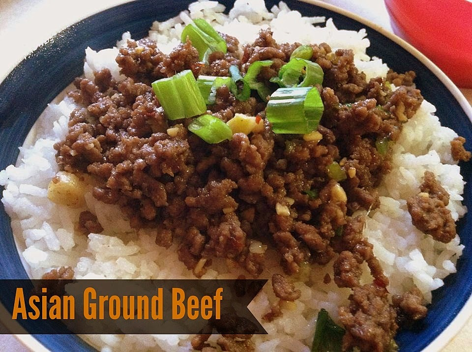 Designed Asian ground beef can