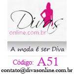 Código de desconto especial na loja Divas Online, aproveite!