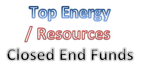 Best Energy/ Resources Closed End Funds 2014