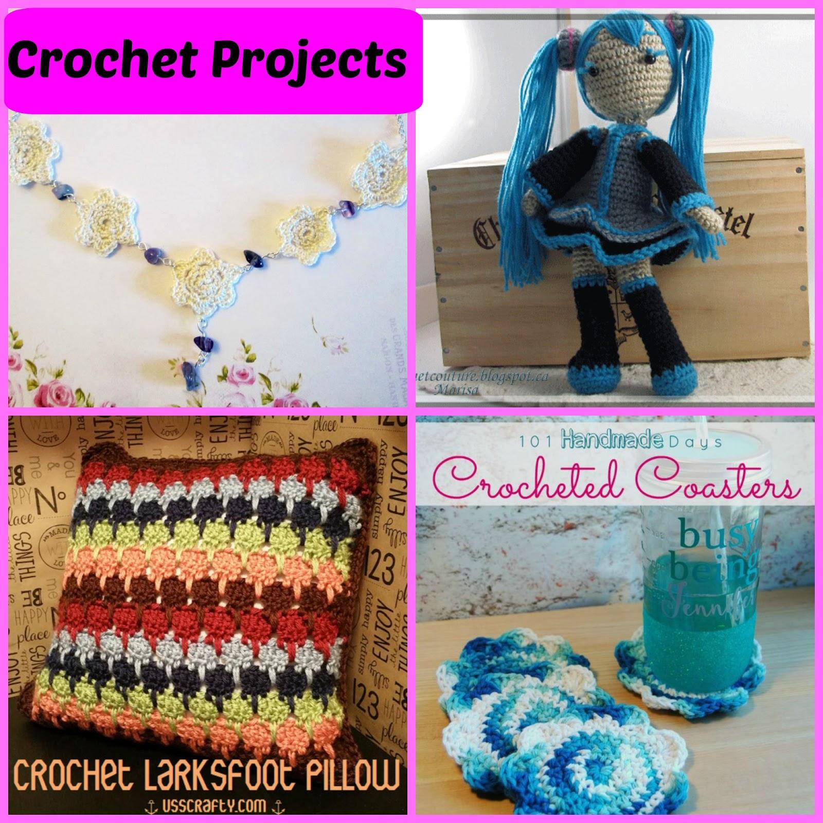 Creating My Way To Success Saturday Spotlight Crochet Projects