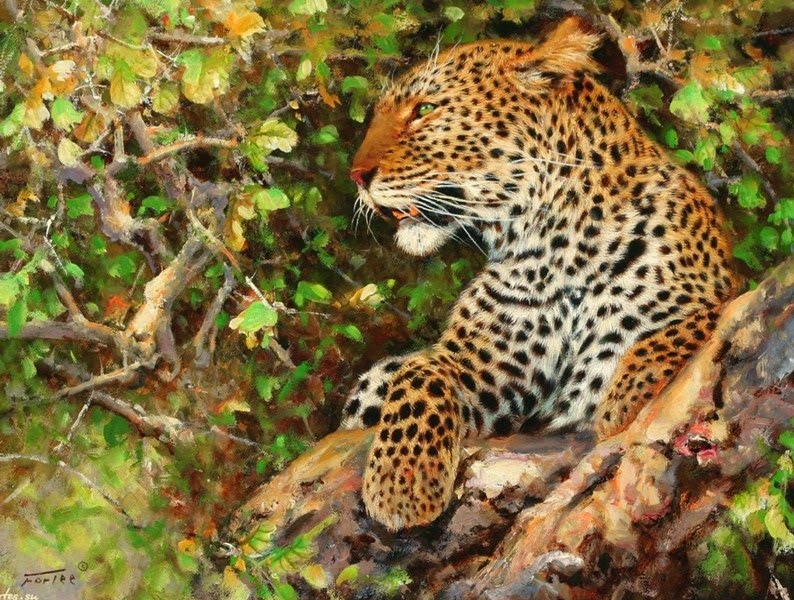 pinturas-de-tigres-en-paisajes