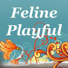 I Volunteer at Feline Playful, helping you keep track of blog challenges!