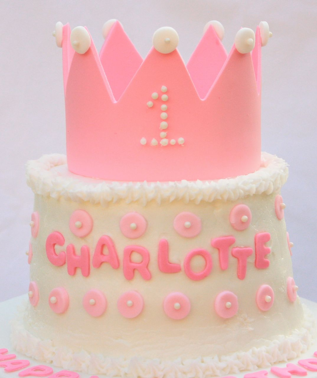 Cakealicious Surprises: First Birthday Cake - Princess Theme