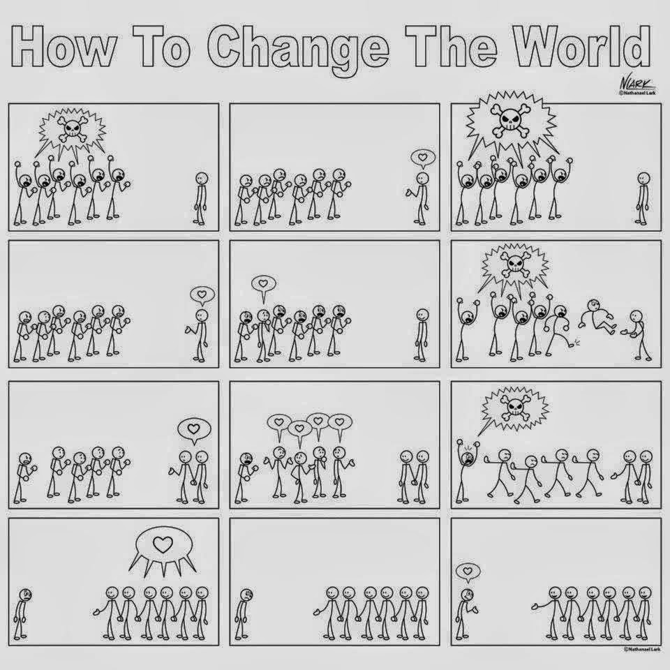 How To Change The World - A Brilliantly Cute Comic Strip