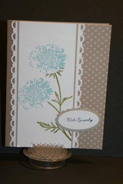 My creative corner field flowers sympathy card oh my what a beautiful sympathy card the field flowers set makes these flower images are so pretty mightylinksfo