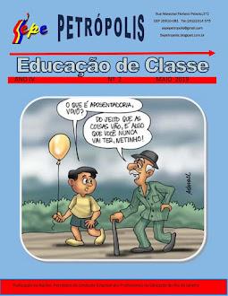REVISTA EDUCAÇÃO DE CLASSE ANO 4  EXEMPLAR 02