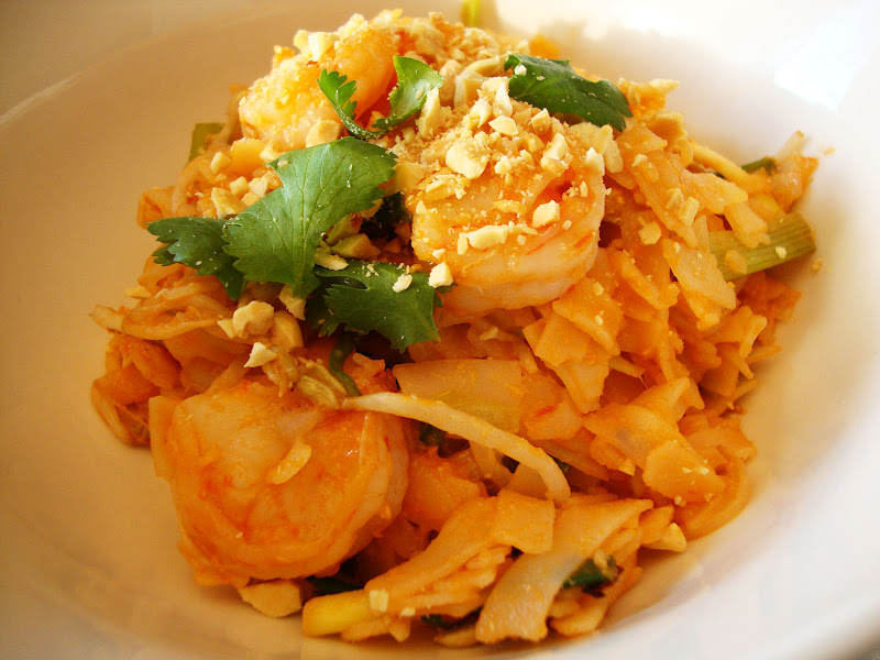 Here is our Shrimp Pad Thai from Great Food Fast.