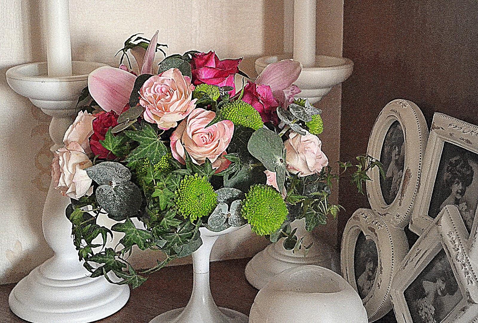 оформление гостевых столов цветами