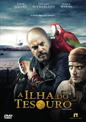 Filme Poster A Ilha do Tesouro DVDRip XviD Dual Audio & RMVB Dublado