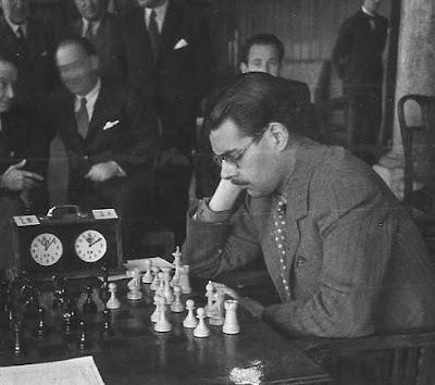 Antonio Medina en el Campeonato de España de Ajedrez de 1944