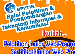 Registration Opening Junior Training and Certification Web Programming Junior Web Programmer