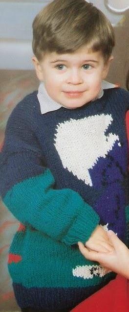 sweterek dziecięcy diy
