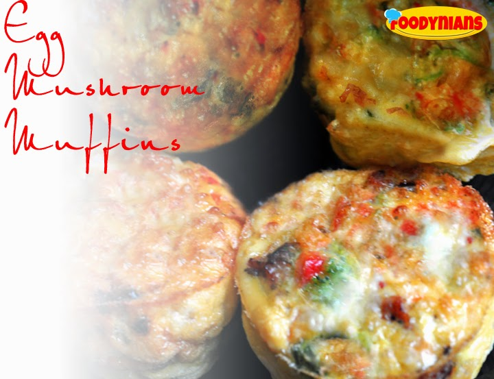 Egg Mushroom Muffins