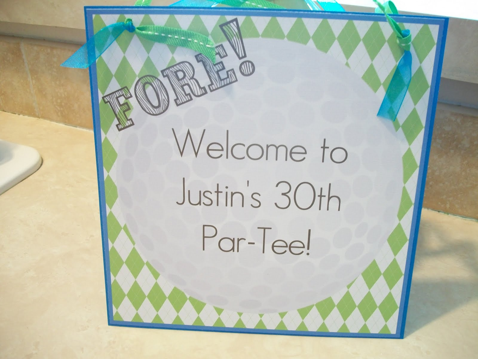 Printable Freebies Golf Themed Birthday