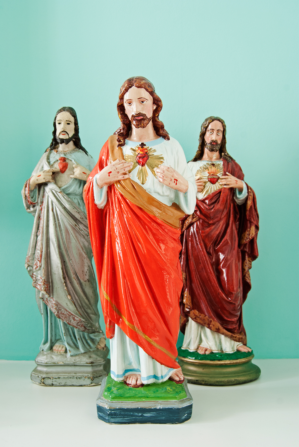 Sacred Heart of Jesus Statues