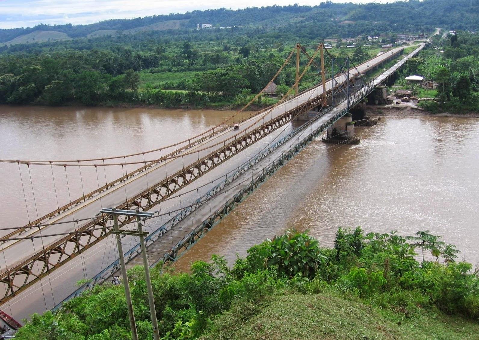 puentes colgantes Aguaytía ucayali