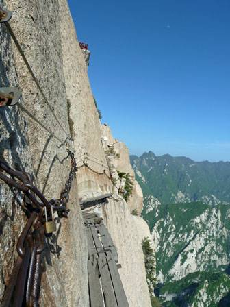 Huashan Cliffside