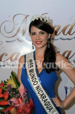 Miss Nicaragua World 2012 winner Lauren Lawson