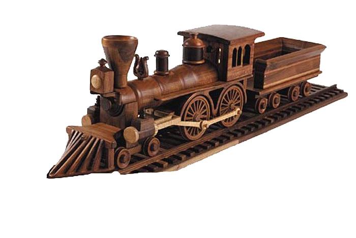 Similiar large wooden train plans keywords for Wooden locomotive plans