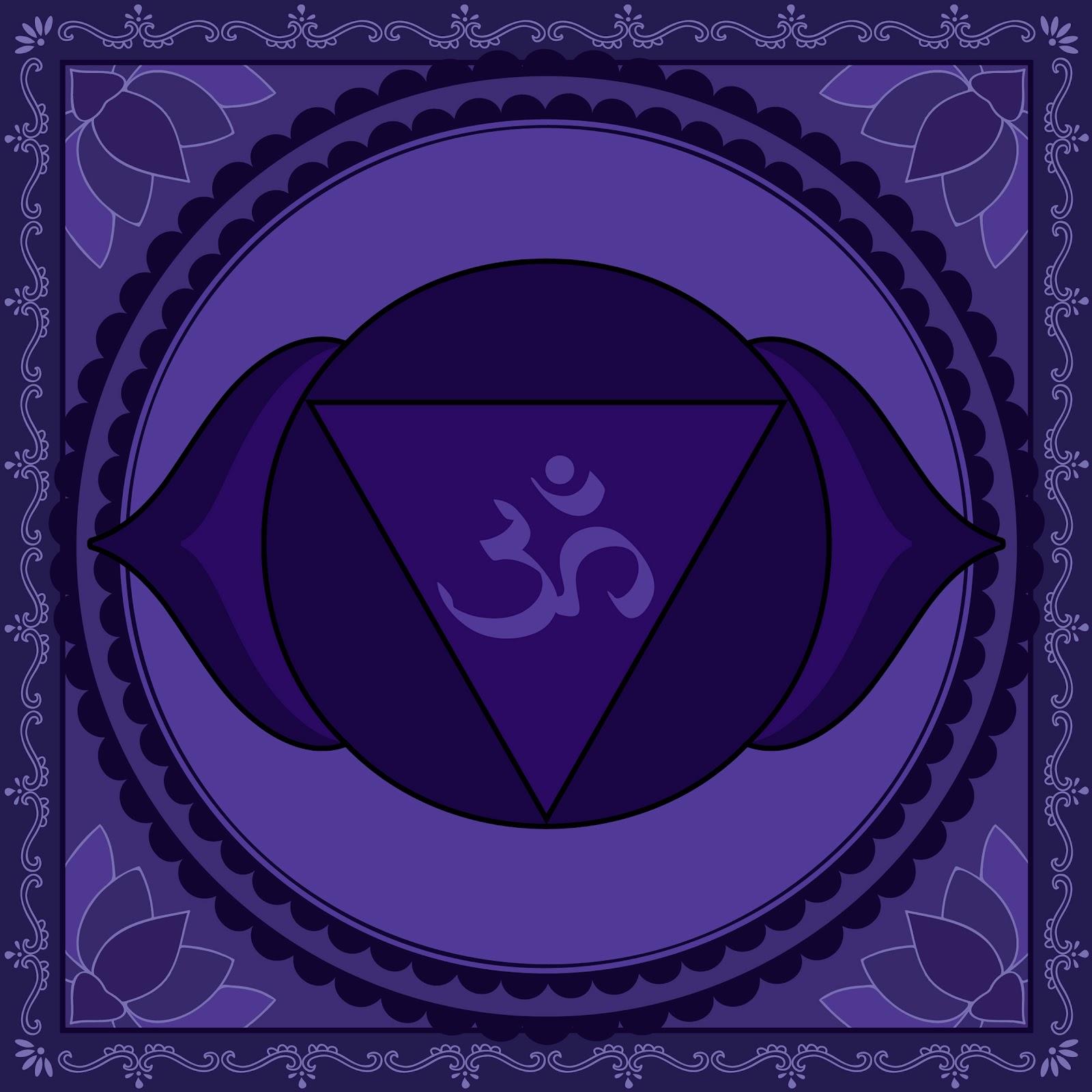 Affirmations à réciter (matin et soir) pour l'équilibrage de l'énergie de vos chakras AJNA+CHAKRA