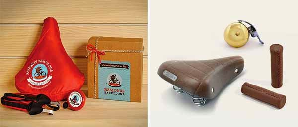Packs de complementos para regalar a un ciclista urbano