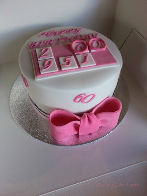 Bingo! 60th Cake