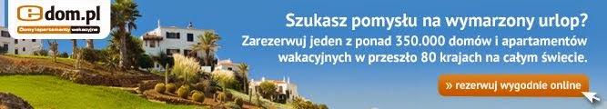 Polecamy szybką i wygodną rezerwację wybranych miejsc noclegowych przez Internet w edom.pl: