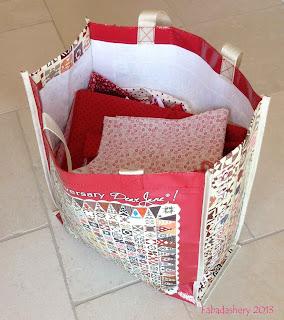 150th Anniversary Dear Jane Quilt Bag